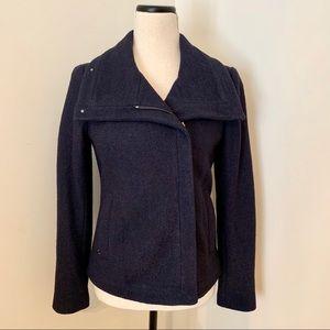 Ann Taylor Navy Blue Coat